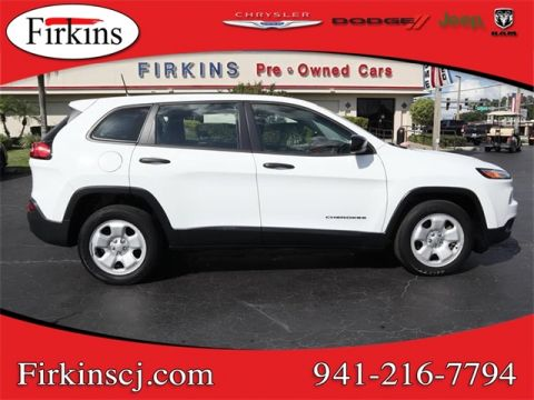 Certified Pre-Owned 2017 Jeep Cherokee Sport
